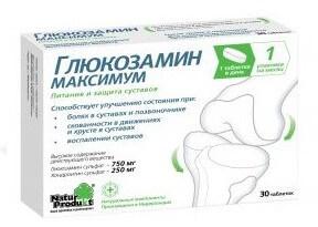 készítmények együttes kezelésre szolgáló kondroprotektorok számára)