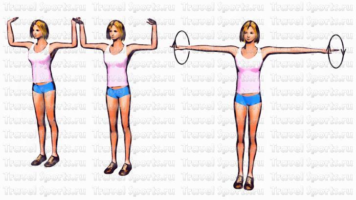 Чтоб Похудели Руки И Плечи. Упражнения для похудения рук и плеч в домашних условиях