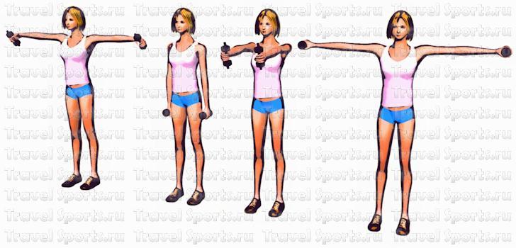 Как Похудеть Предплечьям Рук. Быстрое похудение рук и плеч: упражнения и диета